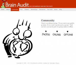 The Brain Audit - Community