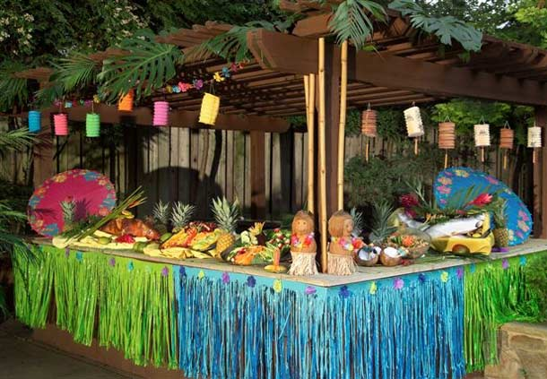 Perfect Hawaiian Themed Party Decoration Ideas 610 x 423 · 55 kB · jpeg