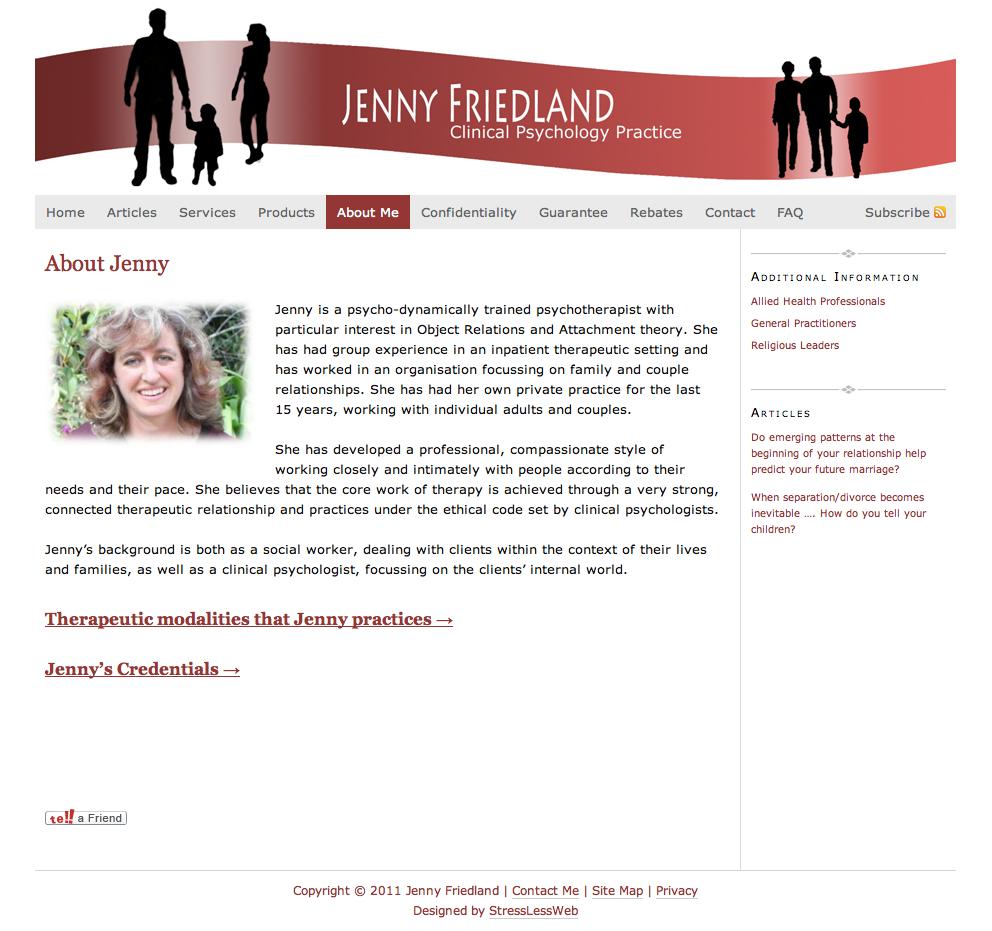 About Jenny Friedland