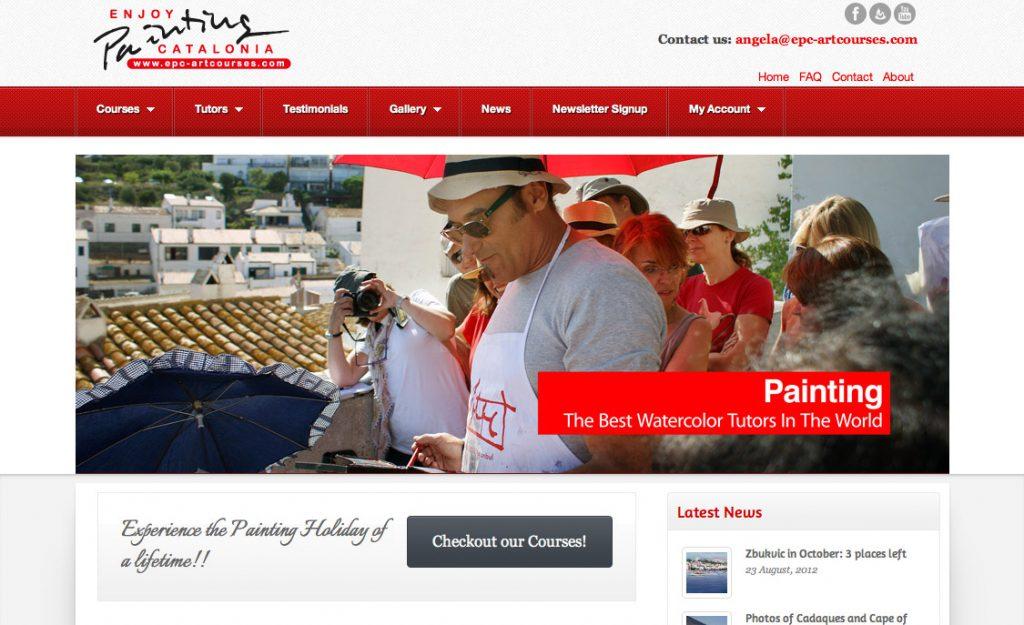 EPC Art Courses - Homepage
