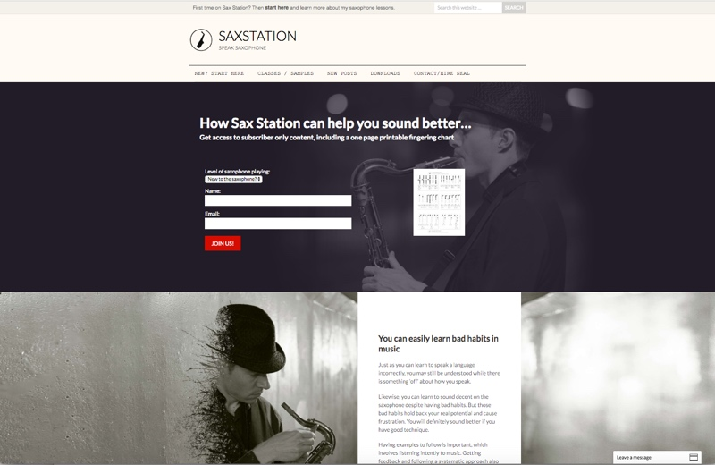 Sax Station