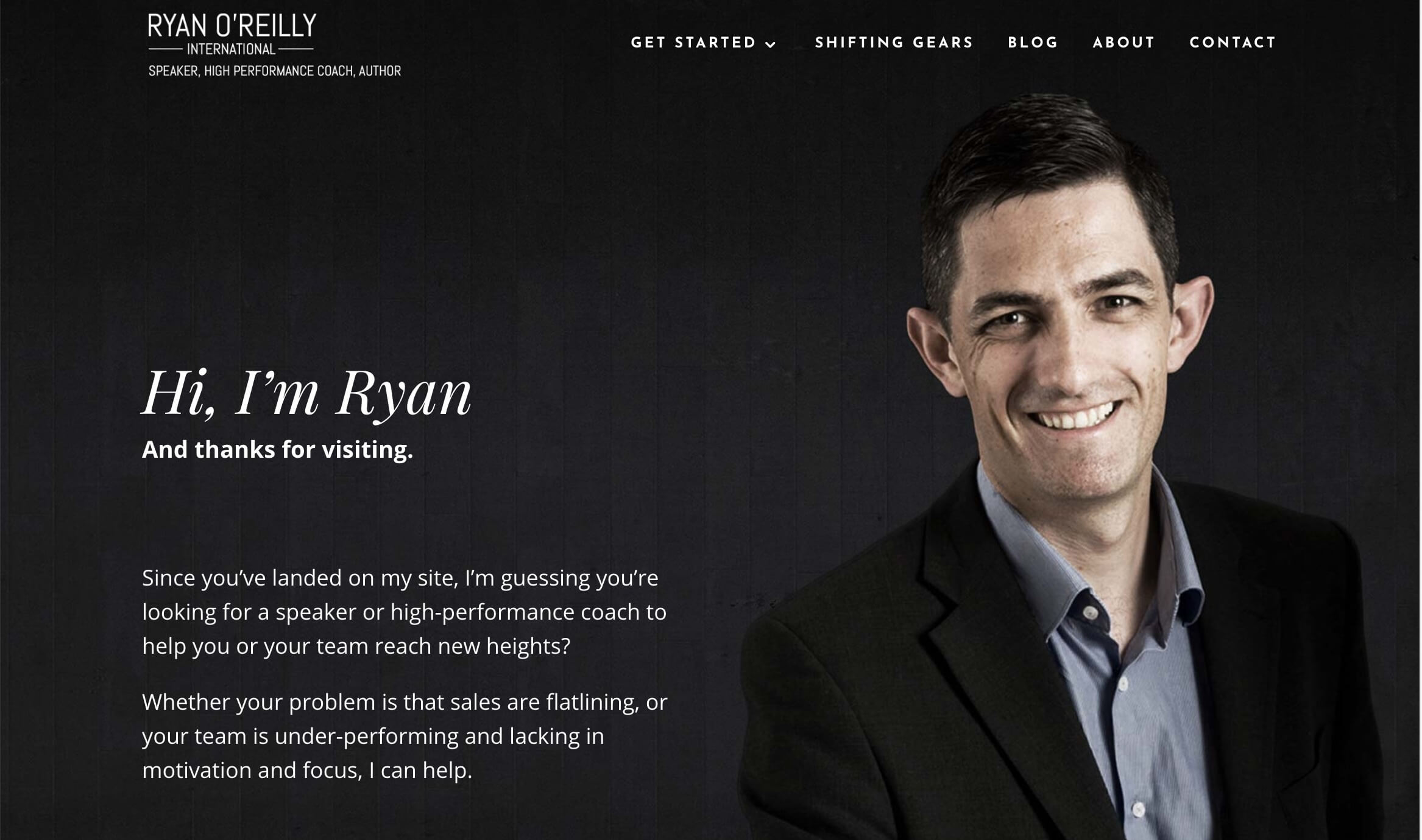 Ryan O'Reilly International – Ireland